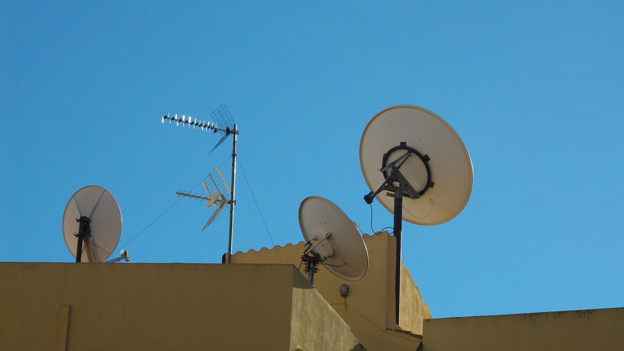 Beautiful stock photos of television, Antenna, Architecture, Building Exterior, Built Structure