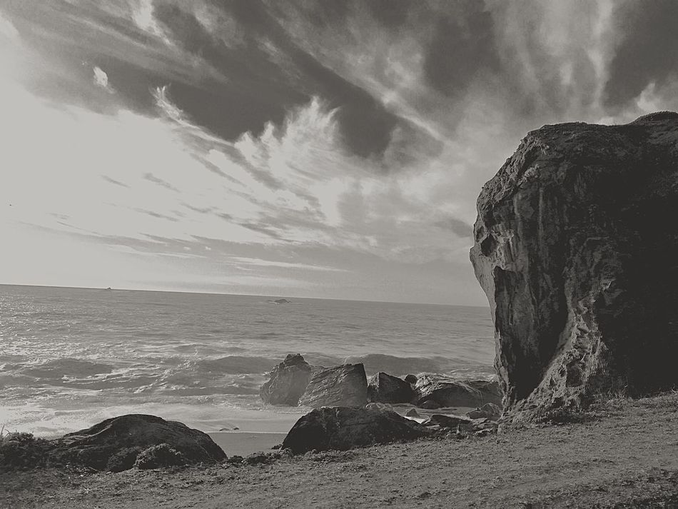 Blacksea Rocky Ocean Black And White Photography Landscapes With WhiteWall Black And White Landscape Dangerous Warning Rocky Beach Rocky Coastline Rocky Shore