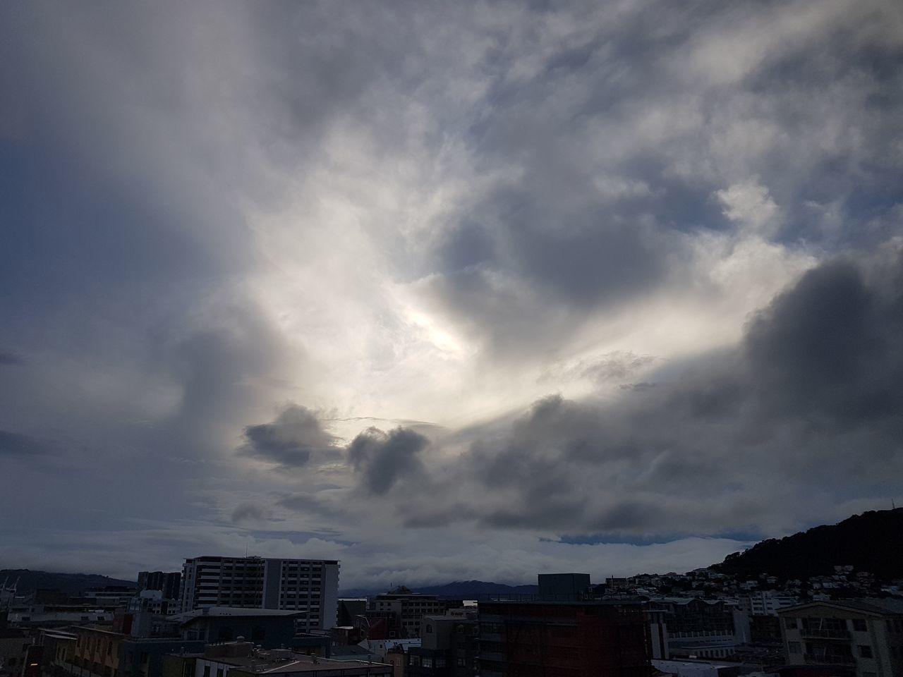 Early morning sky over Wellington. Dramatic Sky Cloud - Sky Cityscape Outdoors Sky City Storm Cloud Urban Skyline Newzealand NZ Sunlight New Zealand Asis NoEditNoFilter Wellington Nz