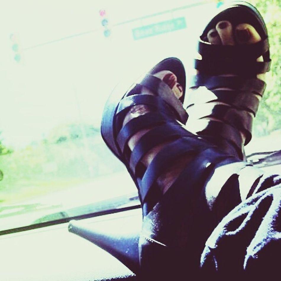 Shoes ♥ ShoePorn Feet Pedi Pedicure Stilletos Sexyshoes Shoelover