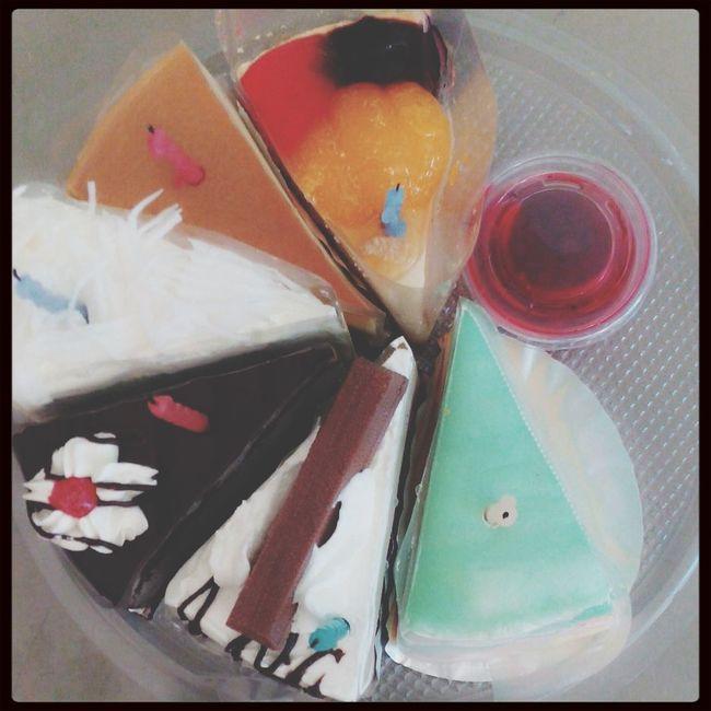 My birthday cake =D Crape Cake Chocolate Cake Custard My Birthday