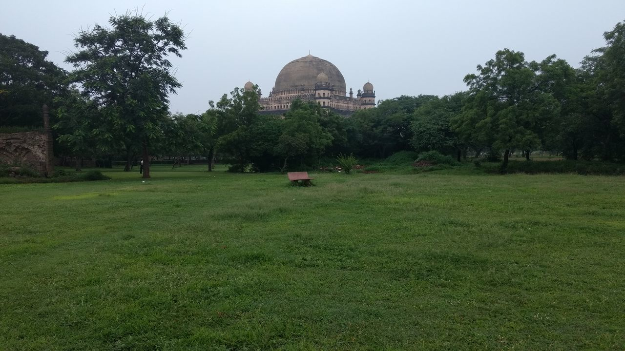 GolGumbaz Vijayapura Greenery Garden Photography Different Angle