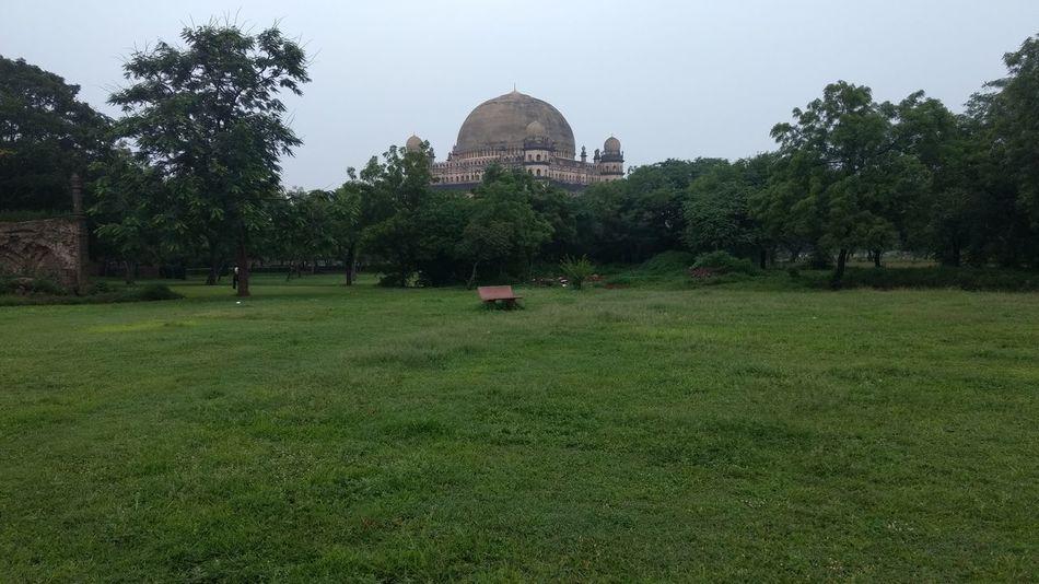 GolGumbaz Vijayapura Greenery Garden Photography Different Angle