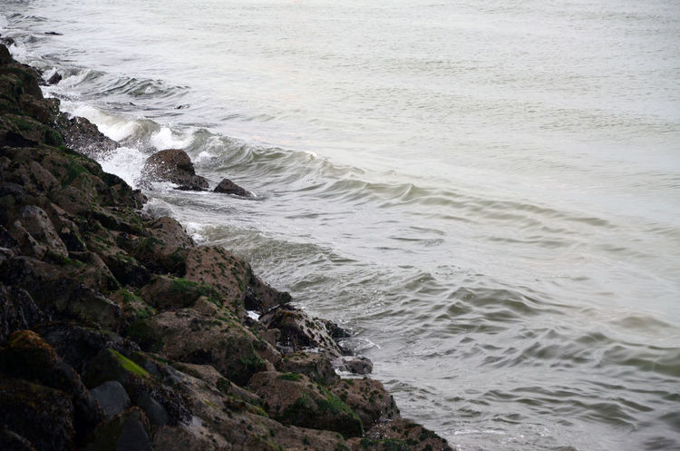 Crashing Sea Sea Wall Water Wave