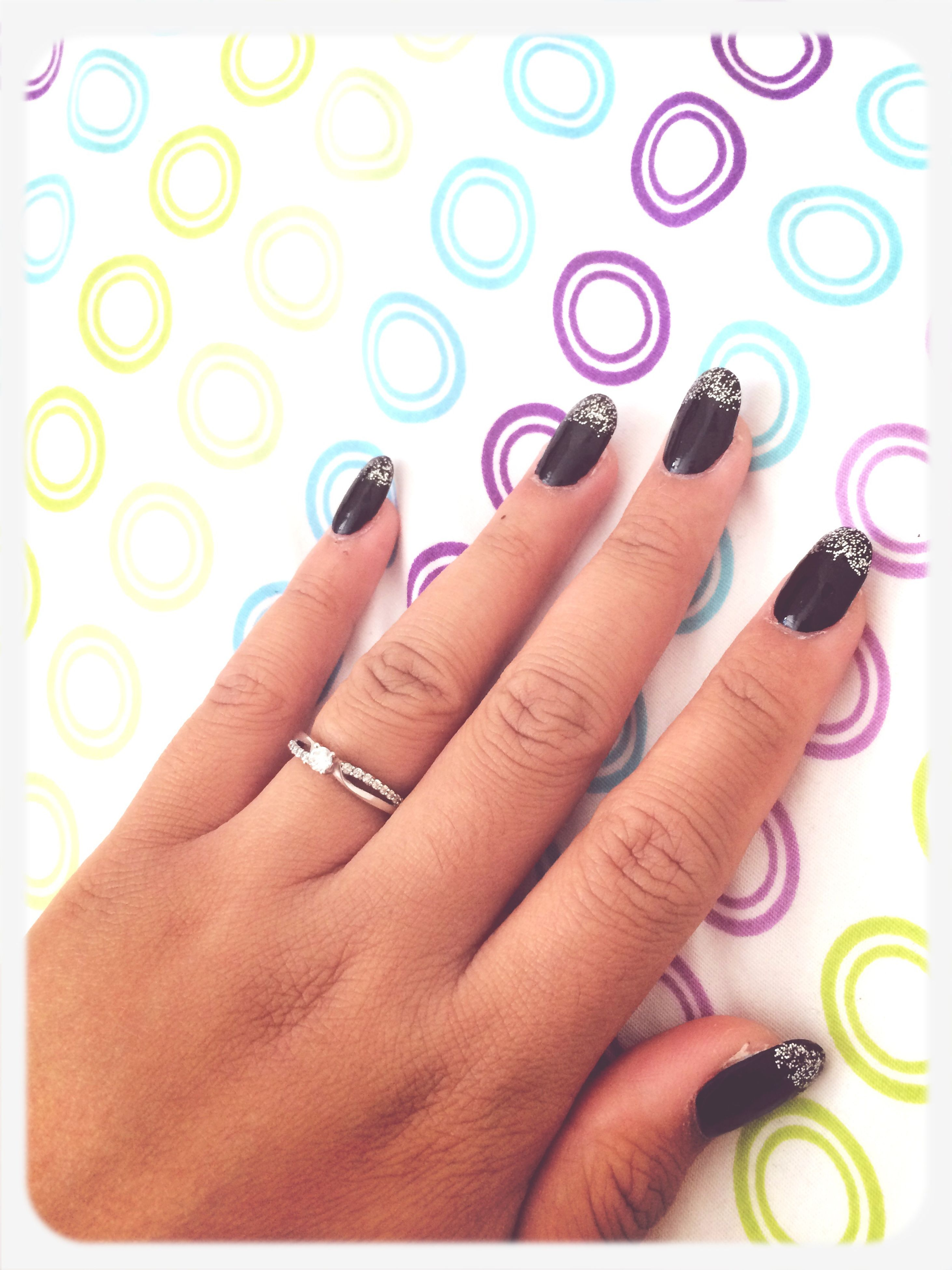 person, indoors, part of, holding, human finger, cropped, close-up, lifestyles, creativity, ring, leisure activity, high angle view, nail polish, art and craft, fashion, personal perspective
