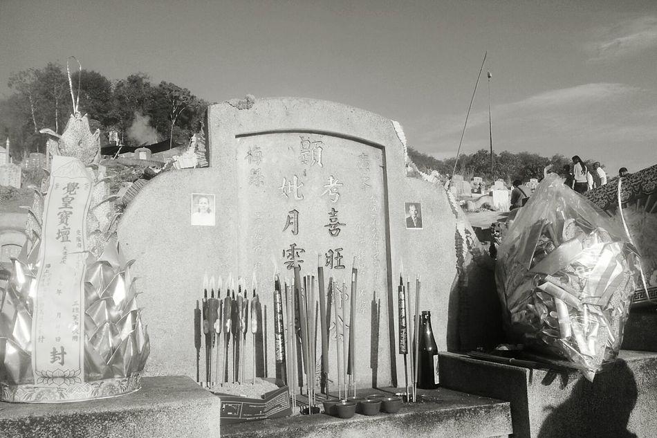 เกือบๆ 20ปี...ได้กลับมาไหว้ซักที... Qingming Candles Incensestick