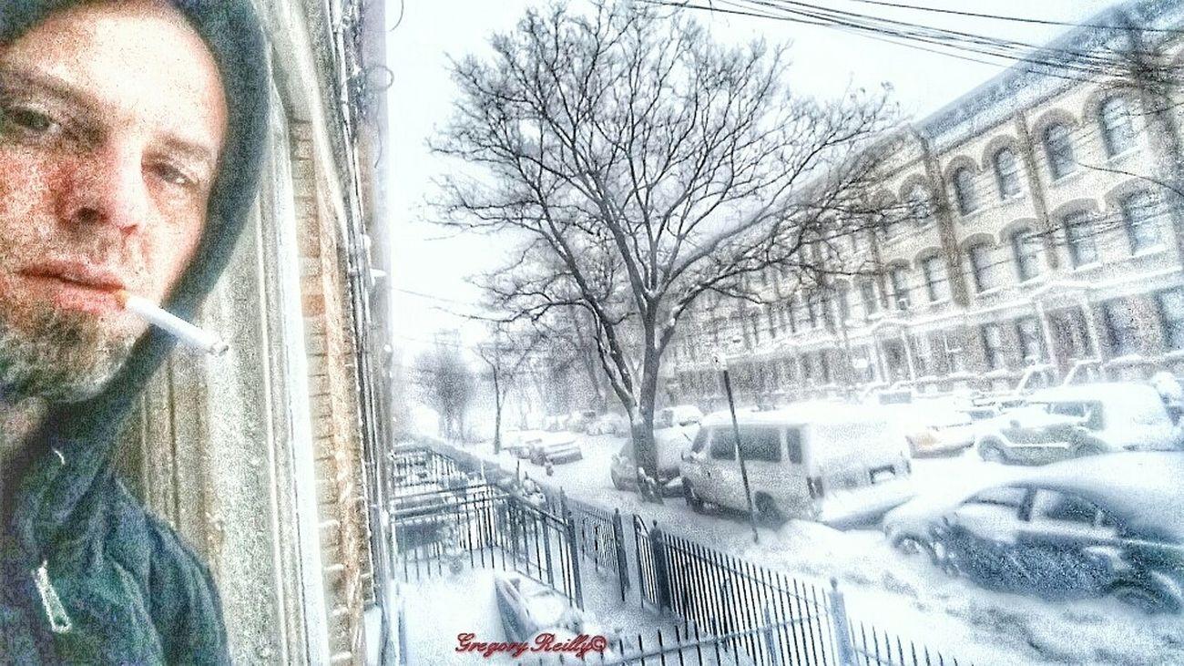 """SnowBlind"" NYC Photography Nyc_explorers Notes From The Underground Not Strange To Me Ridgewood Queens NYC NYC Street Photography Nycprimeshot NYC Newyork"