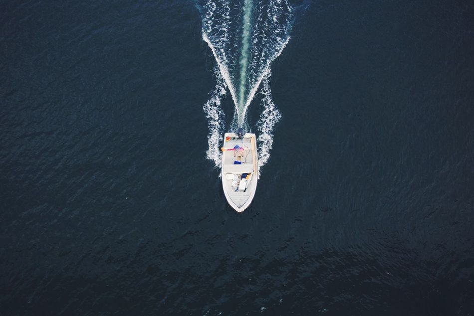Beautiful stock photos of drones, Blurred Motion, Boat, Day, High Angle View