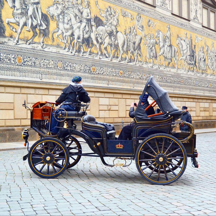 Phaeton Kutsche Kutschfahrt Carriage Dresden