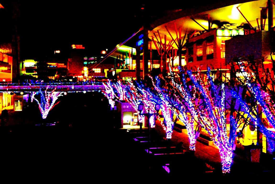 う~ん❗❗街はすっかりクリスマスですなー🌠Christmas Lights X'mas イルミネーション クリスマス ビナウォーク