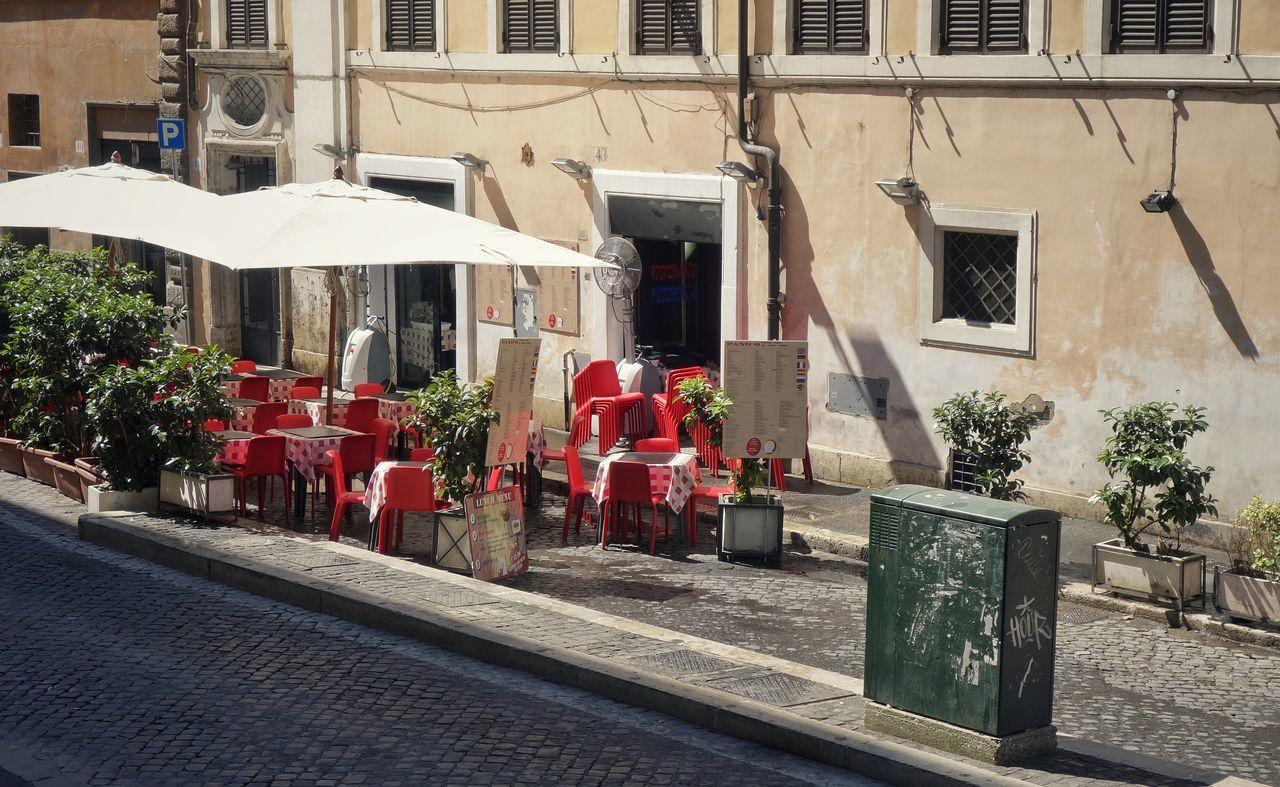 Busstop an der Via Di Panico... Sommer Roma Rom Rome Italia Italien Italy Summer