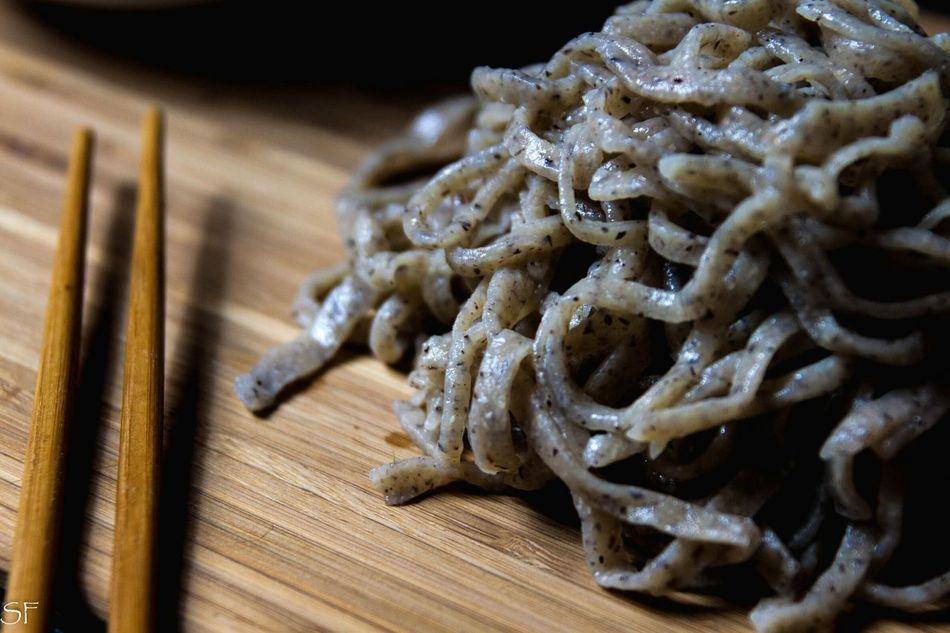 Homemade soba noodles Goodfood Italy Chef Foodphotography Foodporn Food Cooking Federicospiga London Rome Italy First Eyeem Photo Soba Soba Noodles Japan Japanese Food