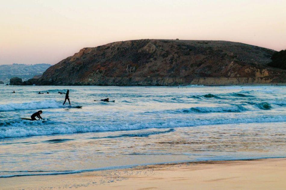 Blue Wave Ocean California Beach Surf Surfing Pacifica Linda Mar 海 カリフォルニア ビーチ サーフィン
