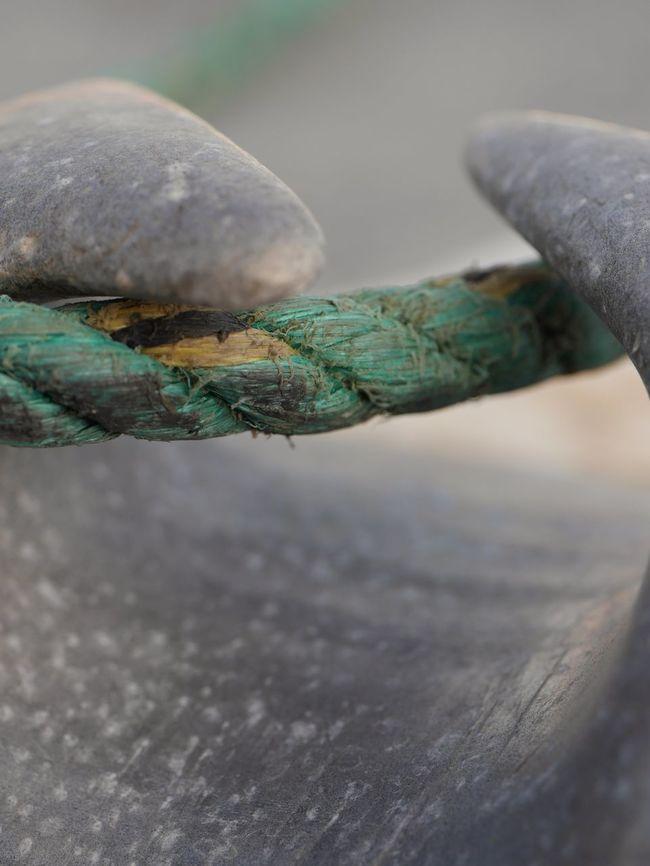 Boat Close-up Deck Grey Marina Marine Roap Wrap Around