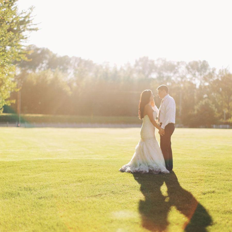 Britt ad Colin's Wedding was just beautiul! The sun shone on the farm, but we just lovrd photographing them. Farm Wedding Sun Sunset