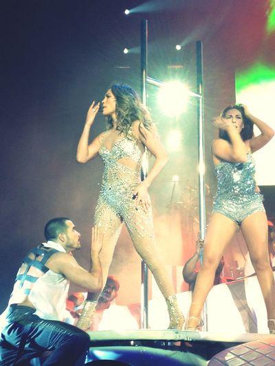 Enjoying Life Jennifer Lopez Concert Dance