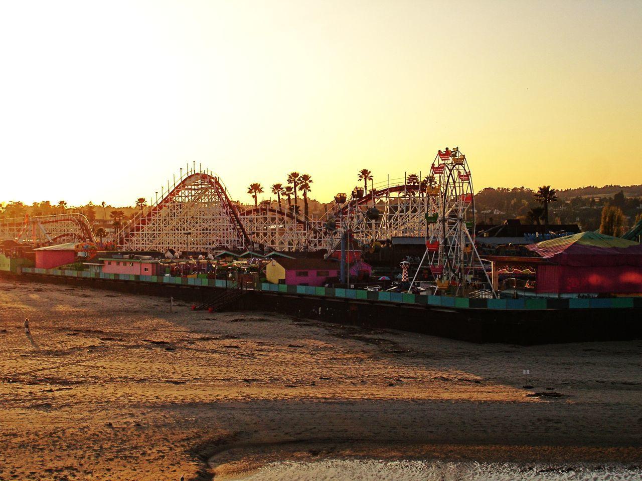 Nice sunset at the beach Sunset Beach Paradise