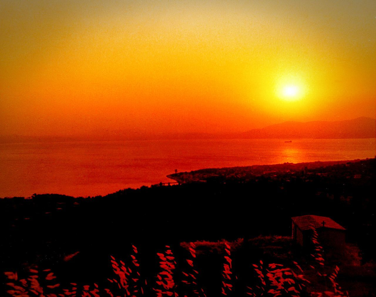 Sunrise Church Country Church Sunrise_sunsets_aroundworld Sunrise_Collection Turn Your Lights Down Low Tranquility A Moment Of Zen... Water Reflections Reflections Shades Of Red Showcase: January No People Sea Golden Hour Yellow Sky Creative Light And Shadow 35mm Film Analog Camera Vintage Sunrise Silhouette South Evoikos Gulf 43 Golden Moments