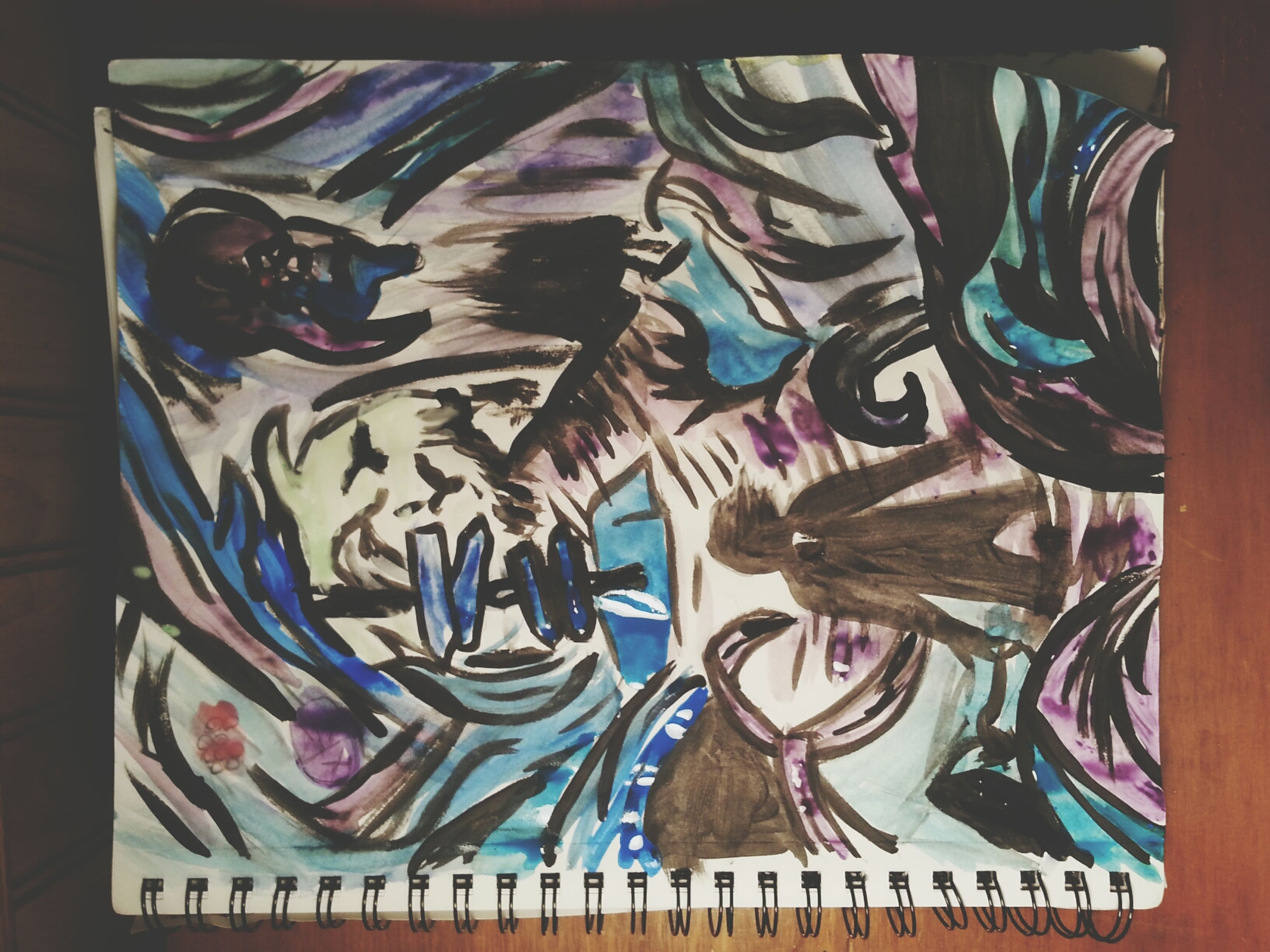 art and craft, art, creativity, indoors, graffiti, design, human representation, multi colored, auto post production filter, craft, animal representation, transfer print, pattern, wall - building feature, built structure, no people, architecture, painting, street art, mural