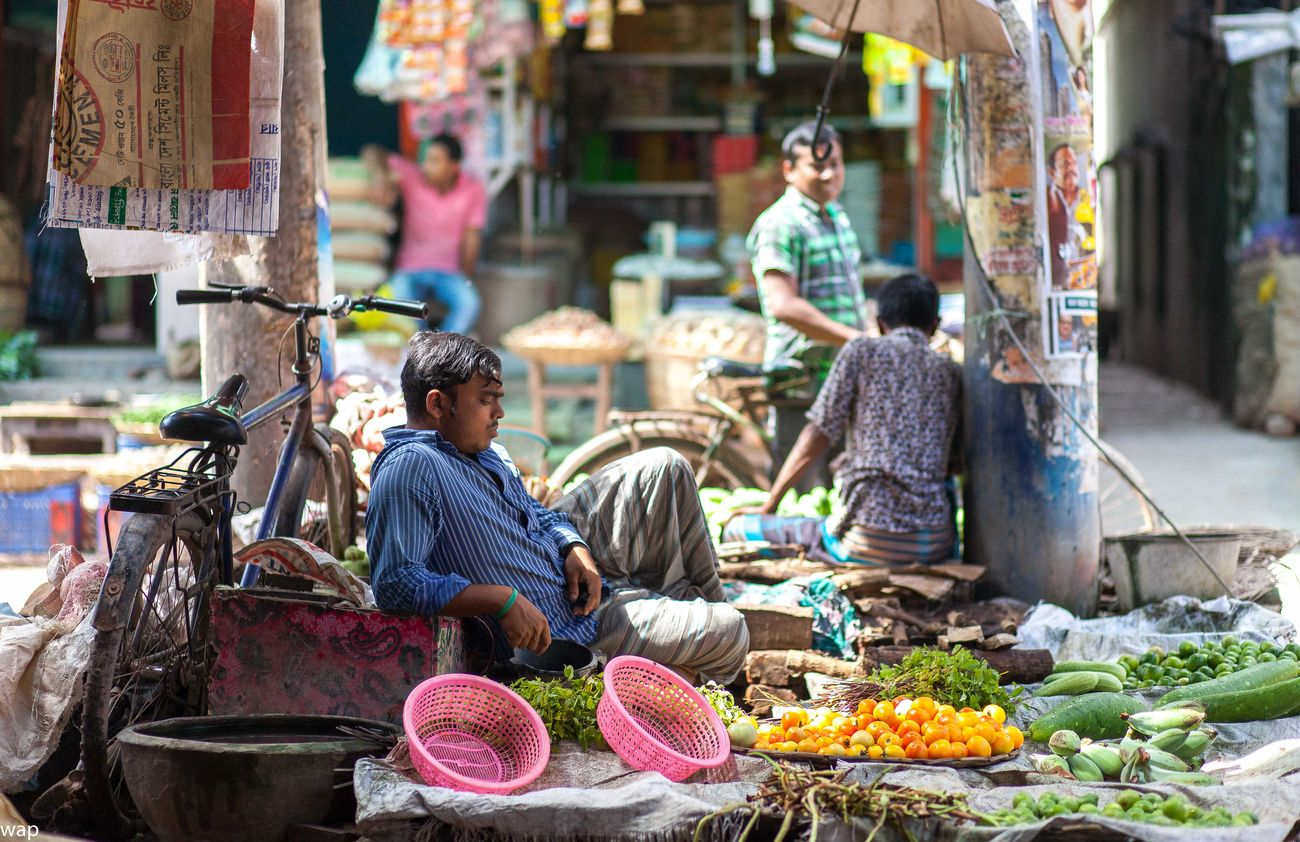 Bangladesh 🇧🇩 Day Food Freshness Jessore Jessore, Bangladesh Market Market Stall Market Vendor Outdoors Real People Selling Small Business Streetphotography Vegetables