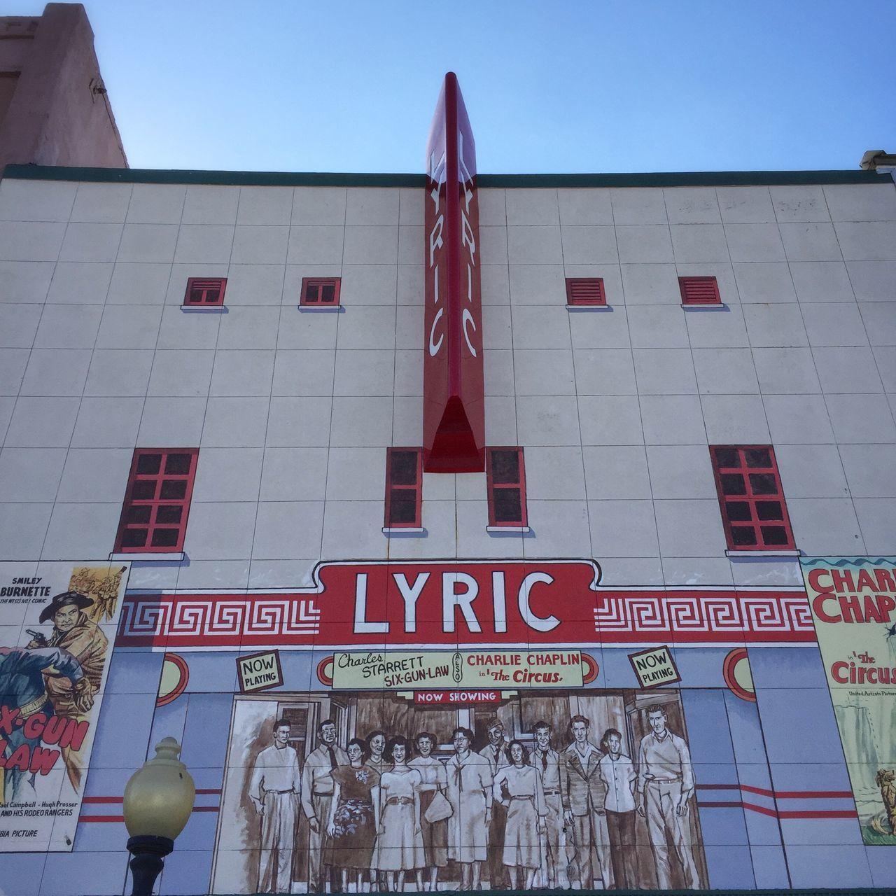 Lyric Theatre MOVIE Movie Time Theater Movienight
