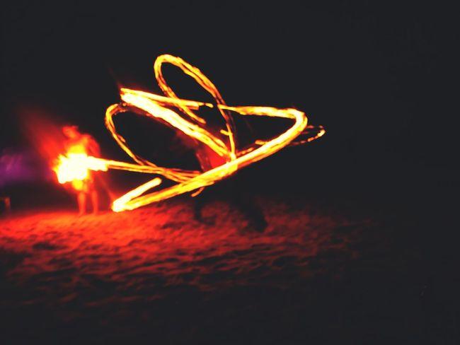 Photography In Motion EyeEm Beachatnight Eyeemphotography Eyeem Philippines FireDancers Eye4photography  EyeEm Best Shots