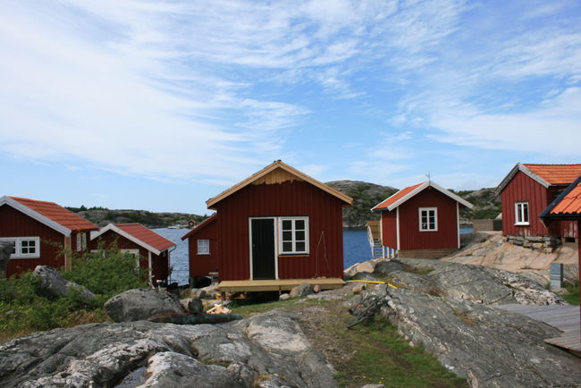Fischerhütten auf Valö Architecture Blue Building Exterior Built Structure Cloud Cloud - Sky Cloudy Day Exterior Fishermenvillage House Landscape Mountain Nature No People Outdoors Residential Building Residential Structure Rock - Object Roof Schären Schäreninsel Sky Town Valö Island
