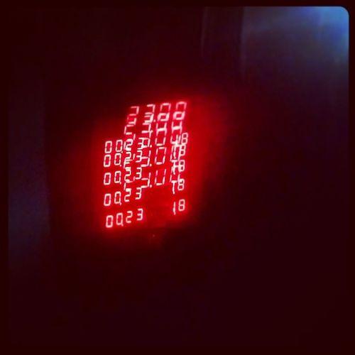 RedAlert. Blurry Blurred Blurring Red meter rickshaw mumbai instapic night travel numbers