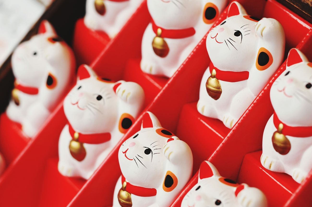 Red EyeEm Japan EyeEm Gallery おかげ横丁 Japan Photography 伊勢神宮 Cats 🐱 招き猫
