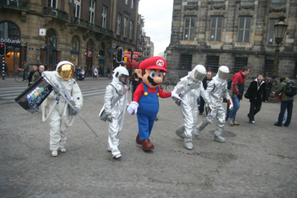 Amsterdam Mario Nintendo Nintendolife Nisute Europe Press Event Press Photography Super Mario