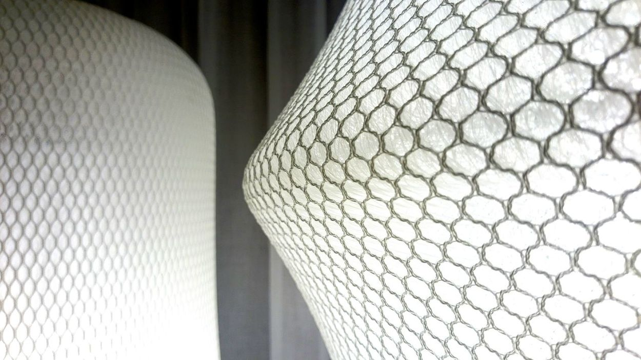 Stockholm Design Week Texture Design Lamp Textile Pattern Fabric Mash