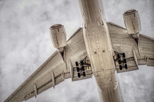 Jumbo Jet Airliner Airplane Aircraft Up Close And Personal Holidays Up Close Come Fly With Me Fly Me To The Moon Transportation Showcase July Close-up MontréalPentaxin Montreal, Canada
