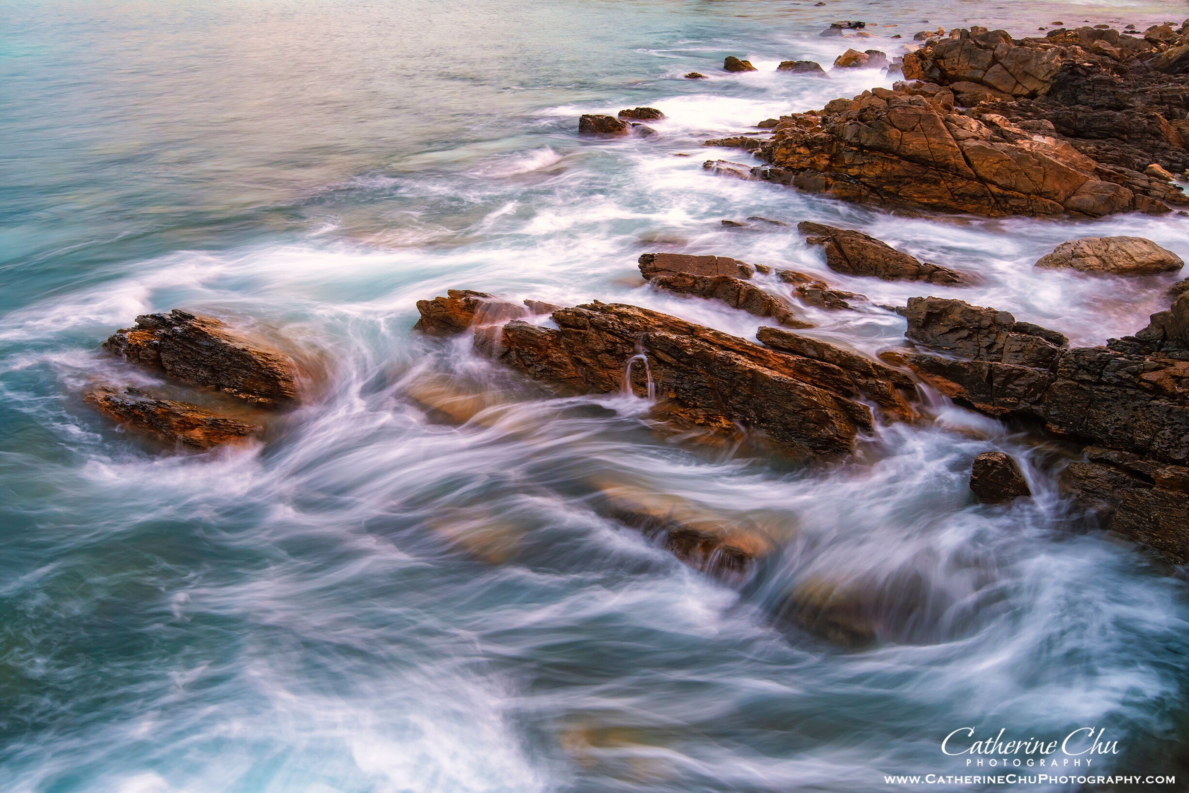 sea, water, wave, motion, high angle view, no people, outdoors, beach, beauty in nature, nature, day, power in nature