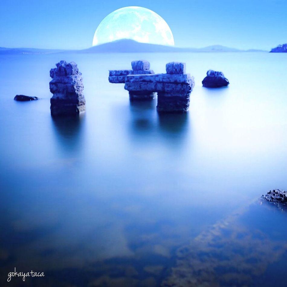 Ayvalik cunda Longexposure Long Exposure Seaside