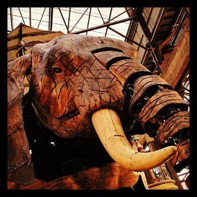 L'éléphant de Nantes Lesmachines