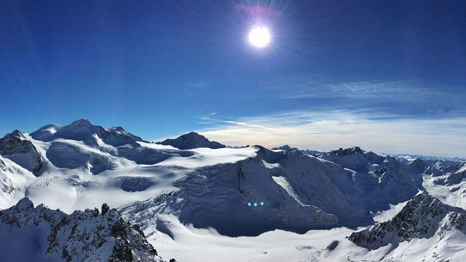 Panoramic view Pitztaler Gletscher Landscape_photography Landscape_Collection Glacier Naturelovers Nature_collection EyeEm Nature Lover 16x9 Streamzoofamily Austria