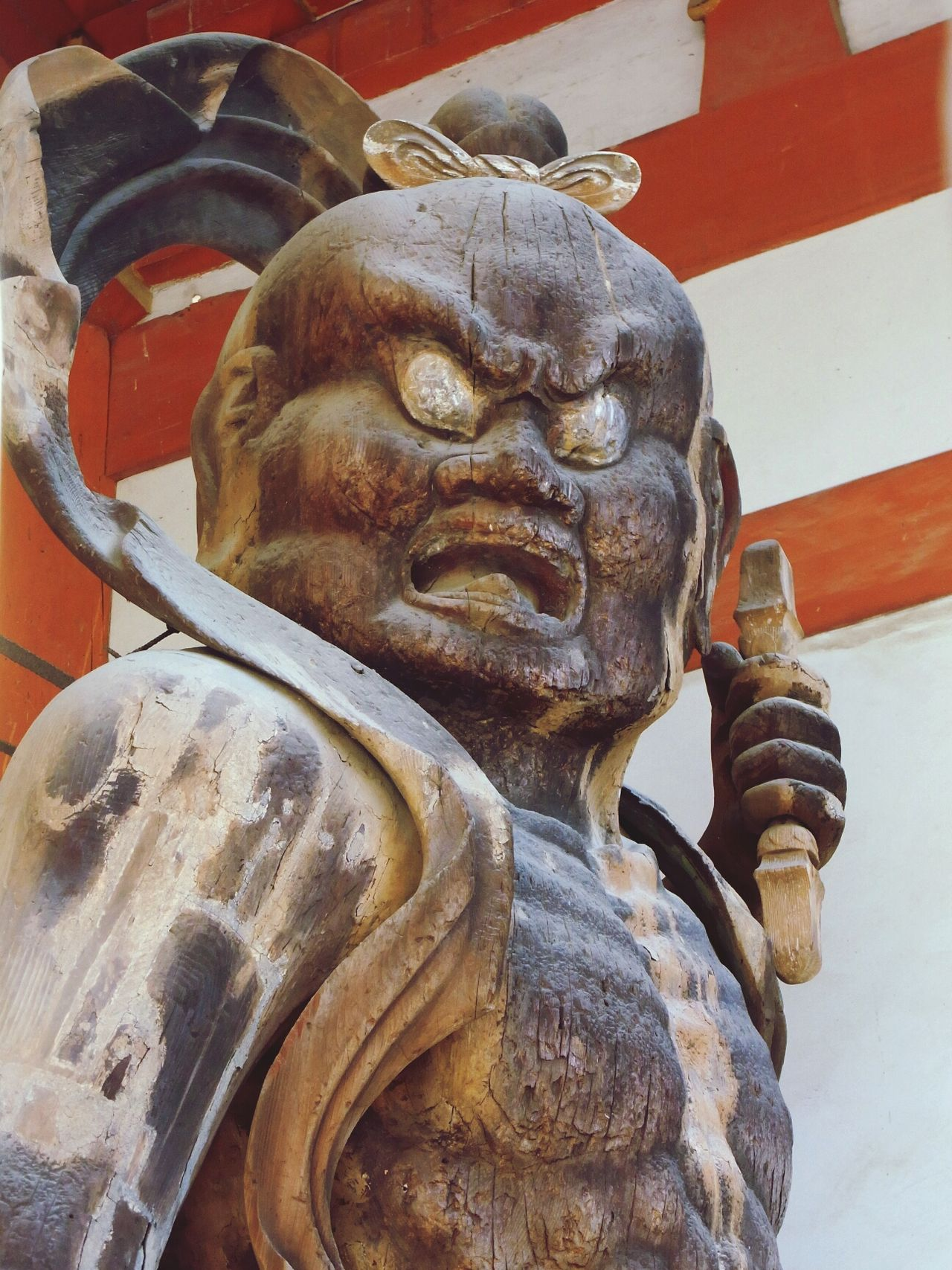 Kyoto 金剛力士像 Scalpture Wood Scalpture