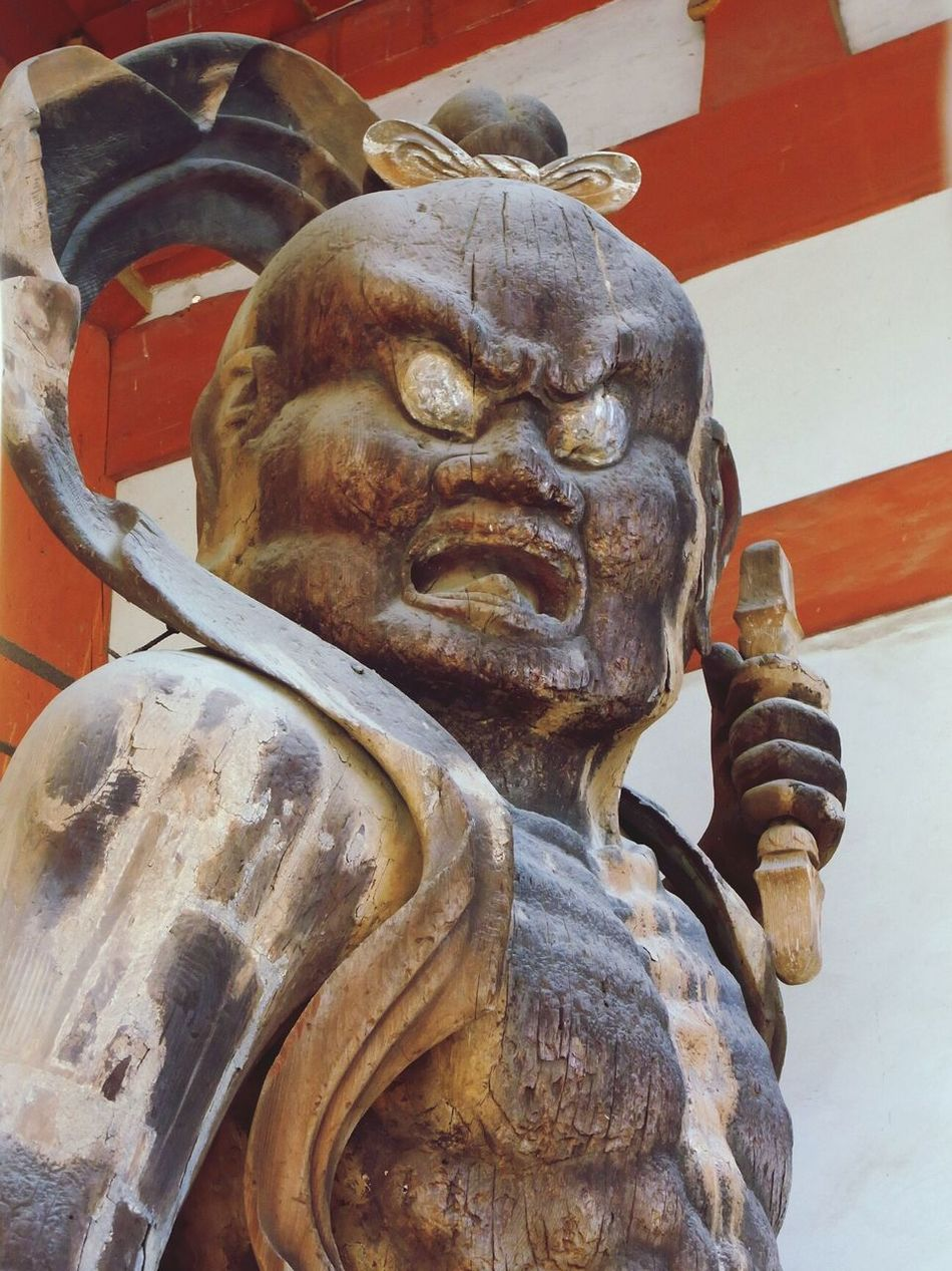 Kyoto 金剛力士像 Scalpture Wood Scalpture