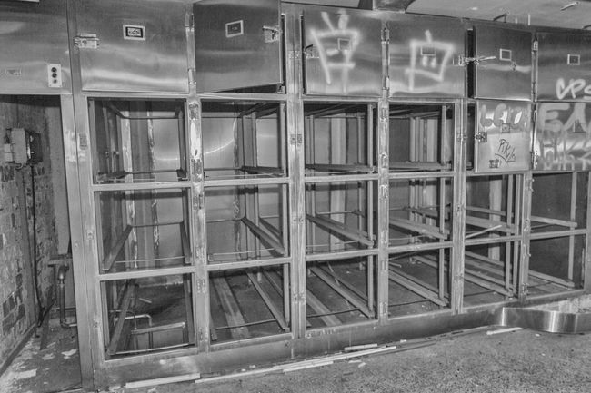 Abandoned Anatomy Building Exterior Cold Room Day Entrance Façade Mortuary No People Outdoors