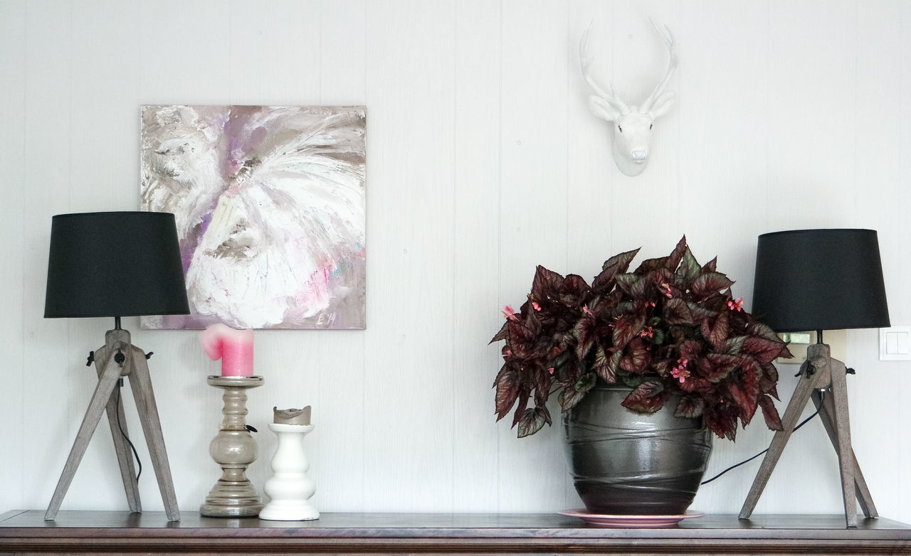 Arrangement Candles Close-up Day Decoration Flower Fragility Freshness Home Interior Jar No People Pink Color Still Life Wall Art :)