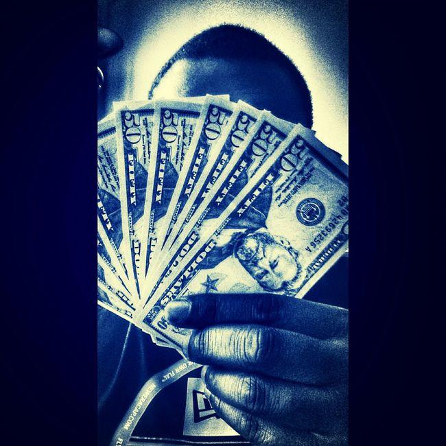 Money $50 Dollars Black&white Selfie