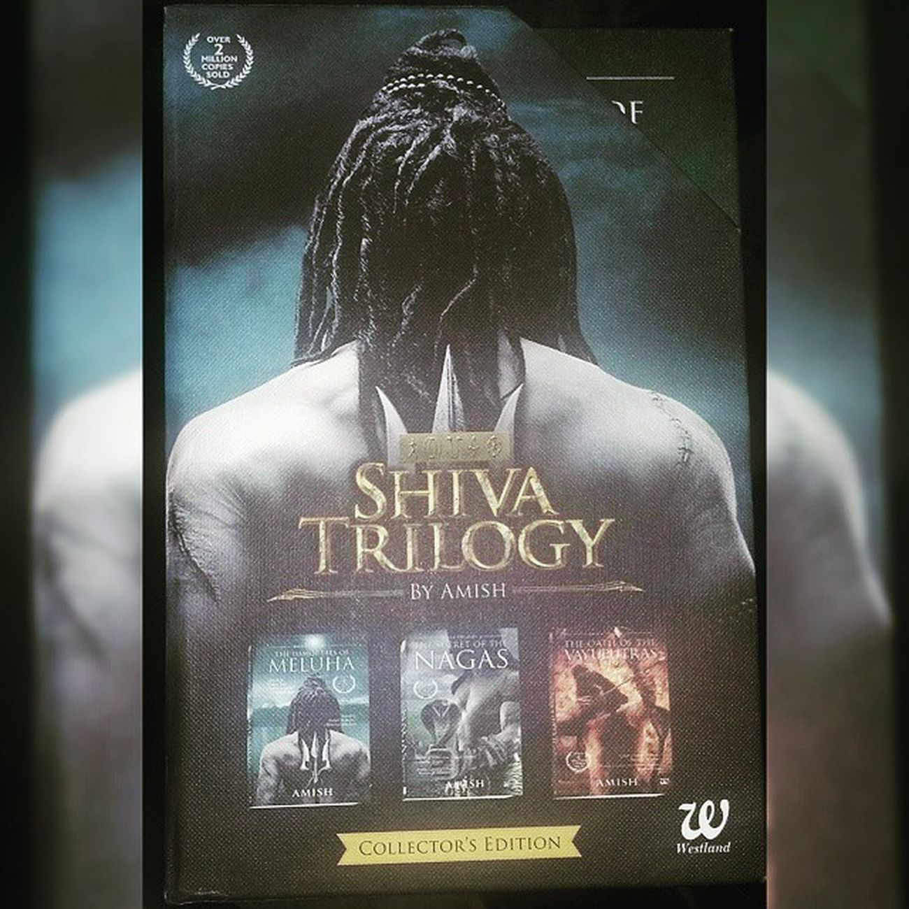 ShivaTrilogy Amish Got 3edition Meluha Nâgas VAYUPUTRAS