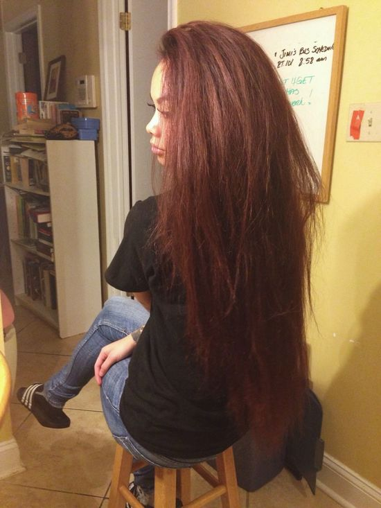 Long Hair Gorgeous Selfie Alot Of Hair