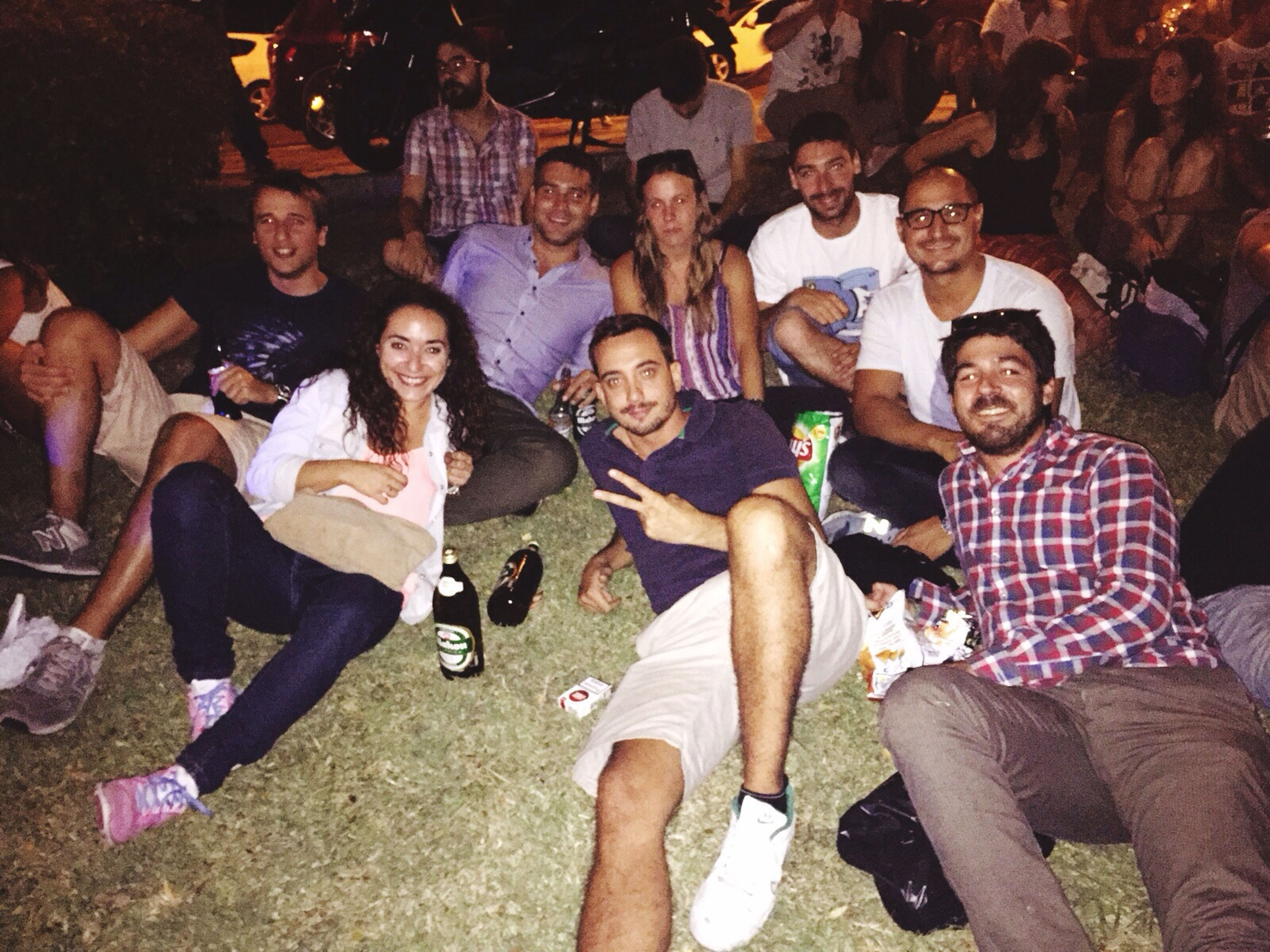 togetherness, lifestyles, leisure activity, friendship, bonding, love, standing, casual clothing, person, large group of people, fun, sitting, men, happiness, enjoyment, high angle view, side by side, outdoors