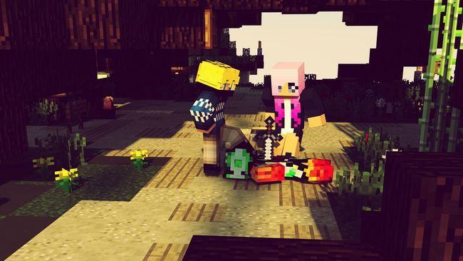 Minecraft CINEMA4D Gfx