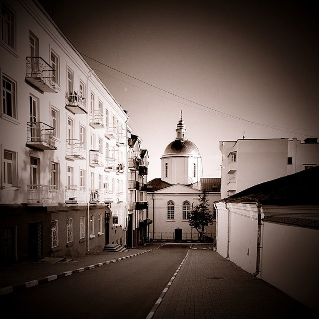 Polotsk Belarusgram Belarusinsta Sepia Streetphotography Walking Around Chirch Thestreetphotographer2016eyeemawards Thearchitect-2016-eyeemawards The 2016 EyeEm Awards