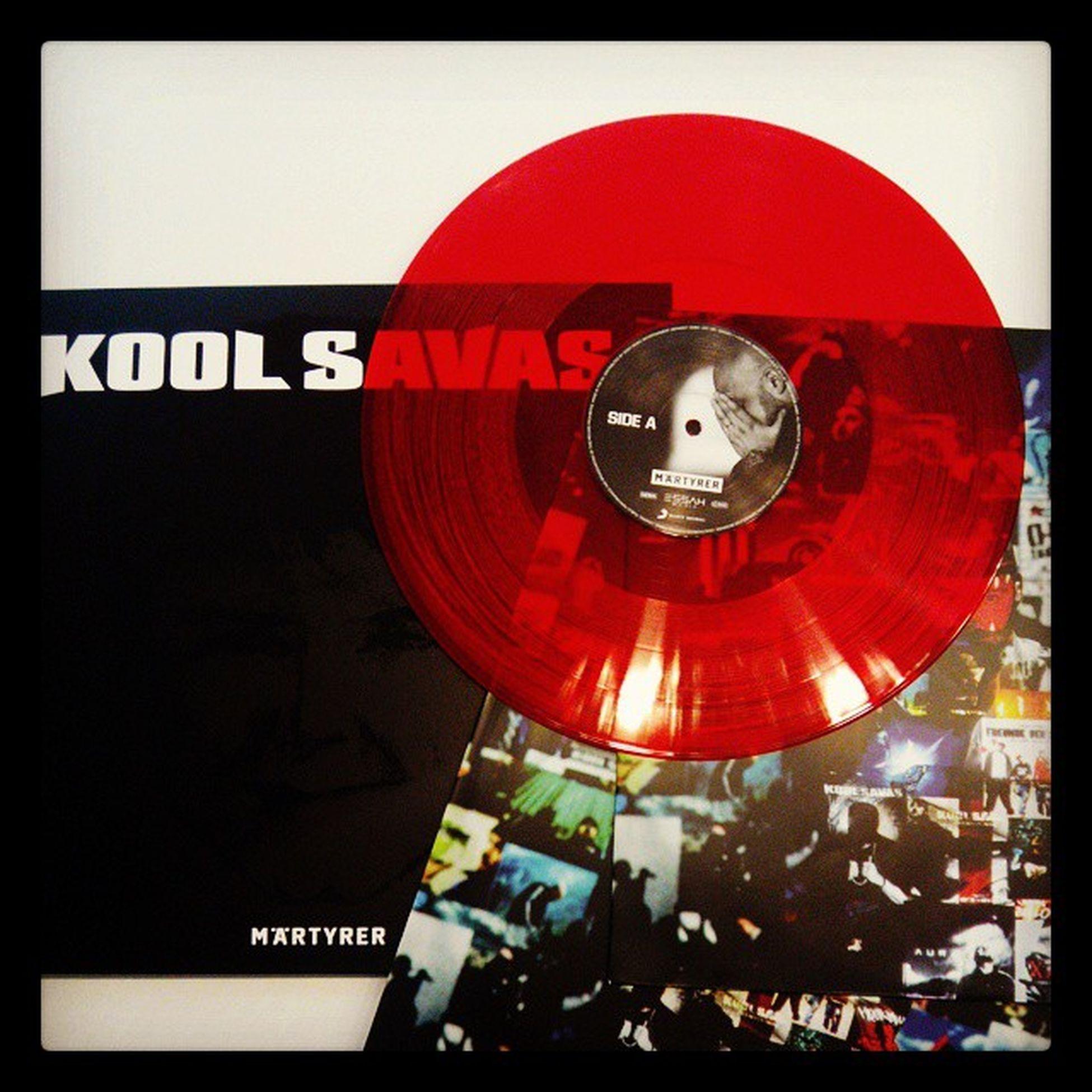 Da isse... Koolsavas Maertyrer Red Vinyl redvinyl redgold blackgold rap