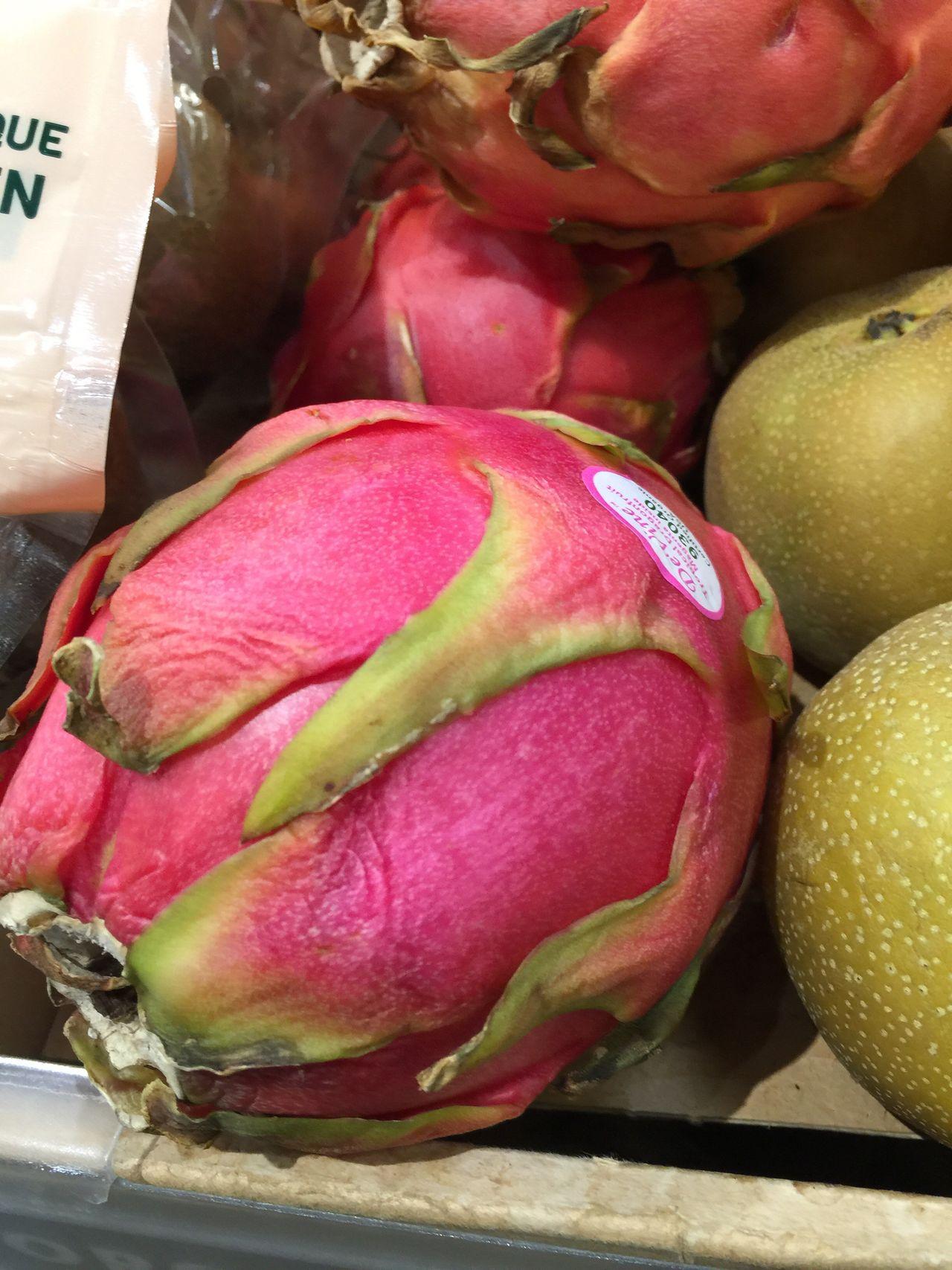 Dragon Fruit Pink Pink Color Food