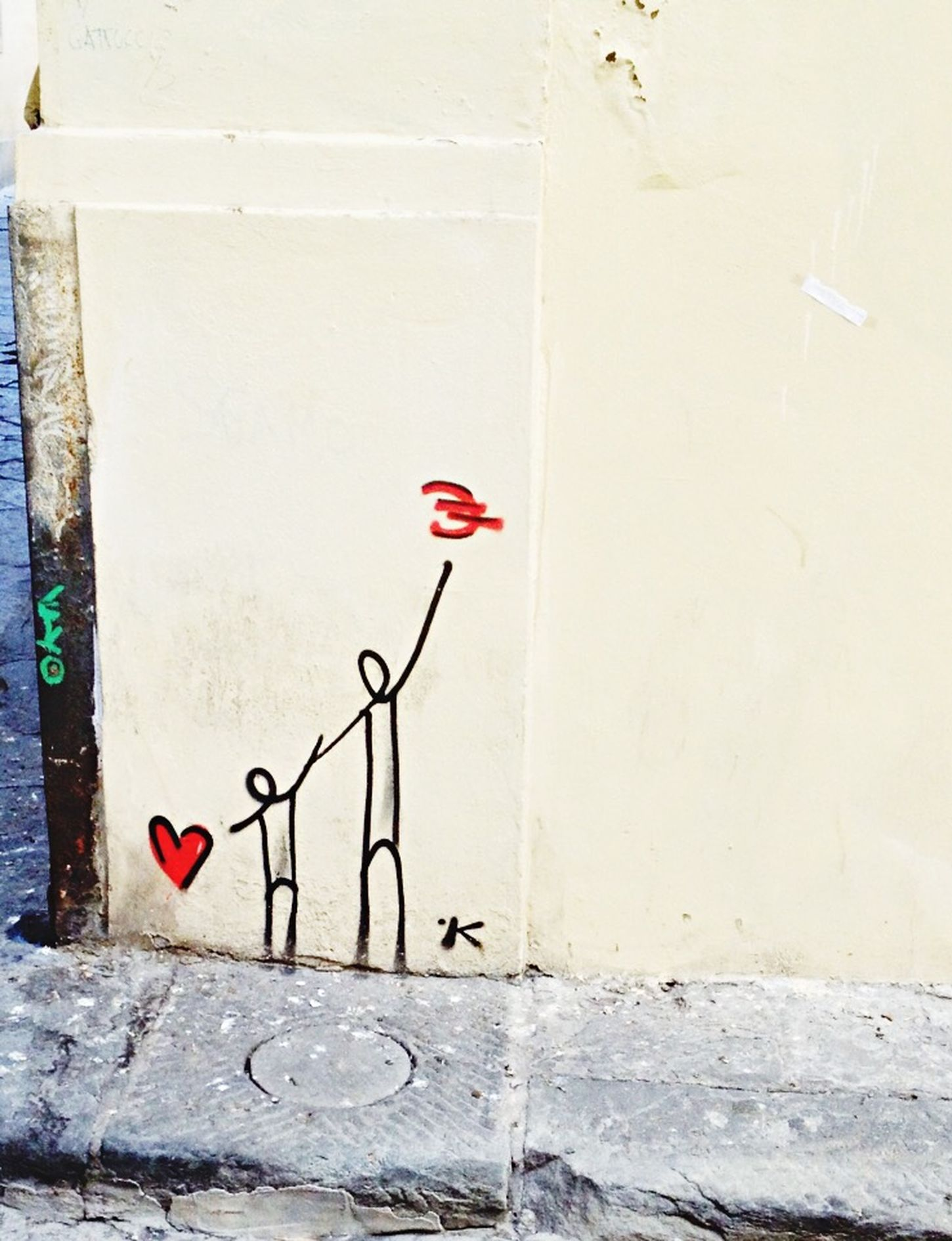 Streetart Graffiti Don't Forget About Love It's Not About The Money Italy Firenze ❤️