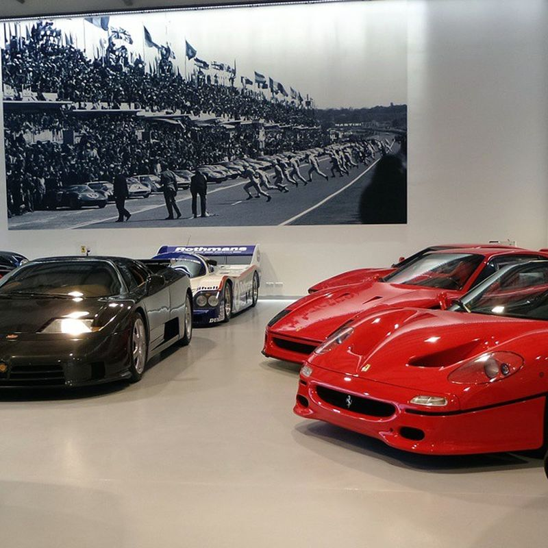 Ferrari F50 F40 288  GTO Porsche 956 Rothmans Bugatti Eb110 SuperSport Ss Joemacari Londoncars London England Carspotting